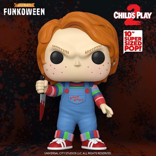 "Child's Play 10"" Chucky, photo from Funko."