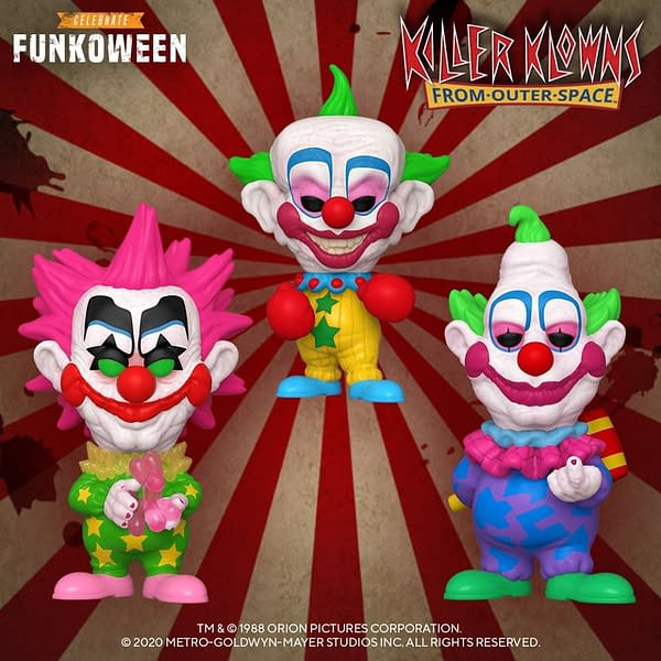 Funko Funkoween Continues with Child's Play and Glams of Killer Klowns