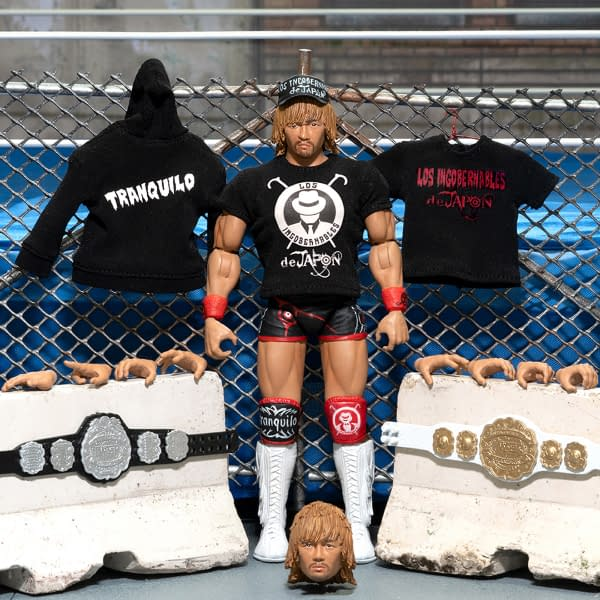 NJPW Series 2 Figures Up For Preorder From Super7