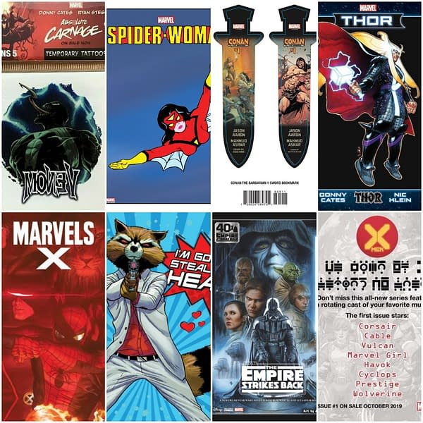 Marvel to Send Planned Comic Con Giveaways to Comic Shops.