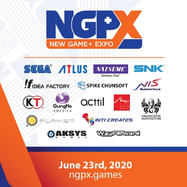 New Game+ Expo will be taking place on June 23rd.