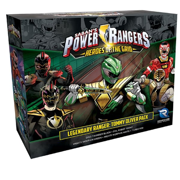 The Legendary Ranger: Tommy Oliver Pack for Power Rangers: Heroes of the Grid by Renegade Game Studios.