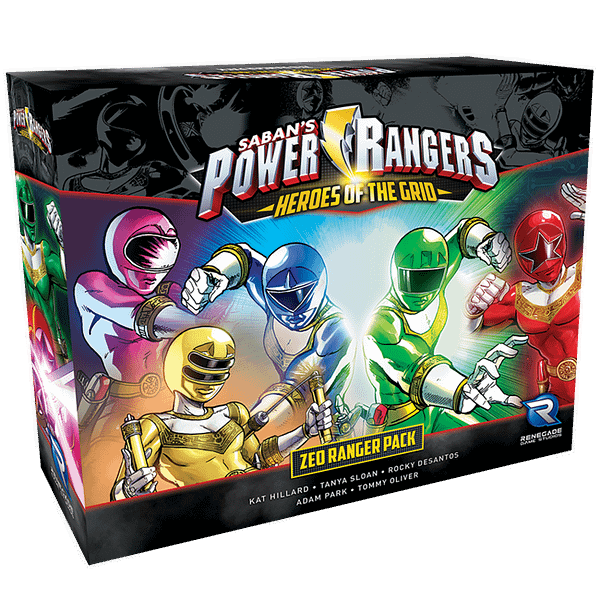 The Zeo Ranger Pack for Power Rangers: Heroes of the Grid.