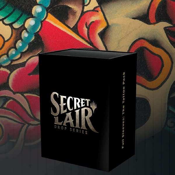 We are happy to announce Secret Lair's newest drop for Magic: The Gathering: Full Sleeves!