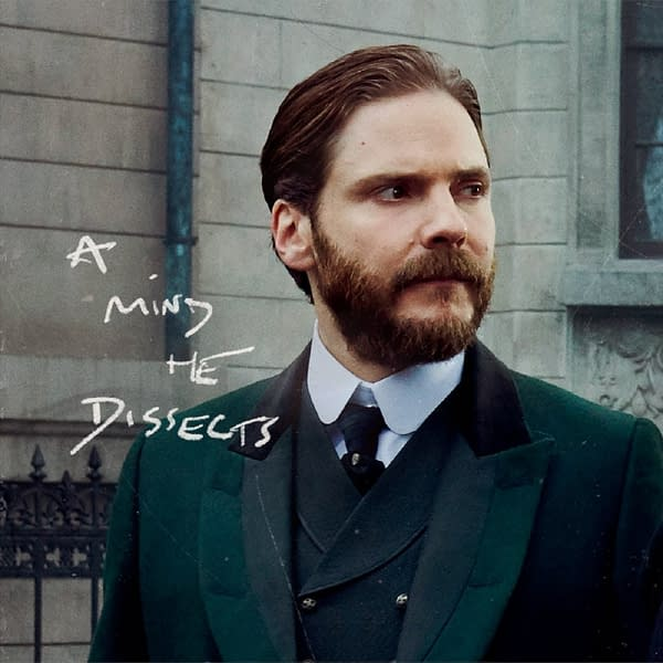 Dr. Laszlo Kreizler sees a mind to dissect in The Alienist: Angel of Darkness, courtesy of TNT.