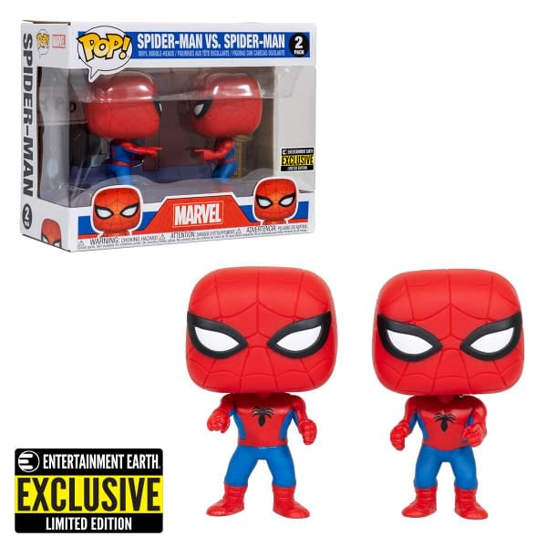 Funko Pop 1960s Spider-Man Double Identity Two Pack EE