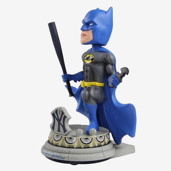 FOCO DC Comics X MLB Bobblehead Batman