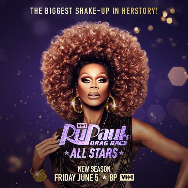 RuPauls Drag Race All Stars returns on June 5, courtesy of VH-1.