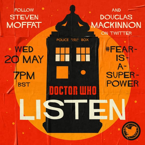 "Artwork for Doctor Who Lockdown Rewatch ""Listen"""