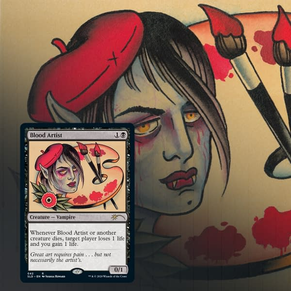 One of our previews for Full Sleeves: Blood Artist!