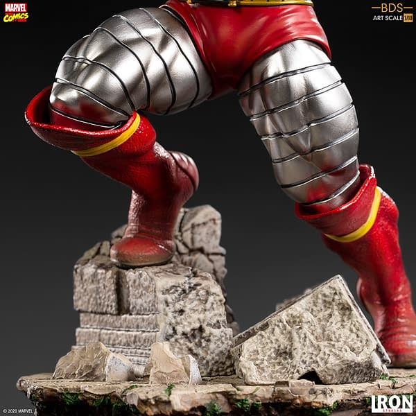 Colossus Joins the X-Men in the Newest Iron Studios Statue