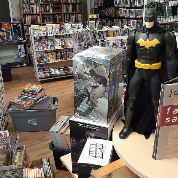 Dewey's Comic City of New Jersey Moves Into Joe Kubert School.