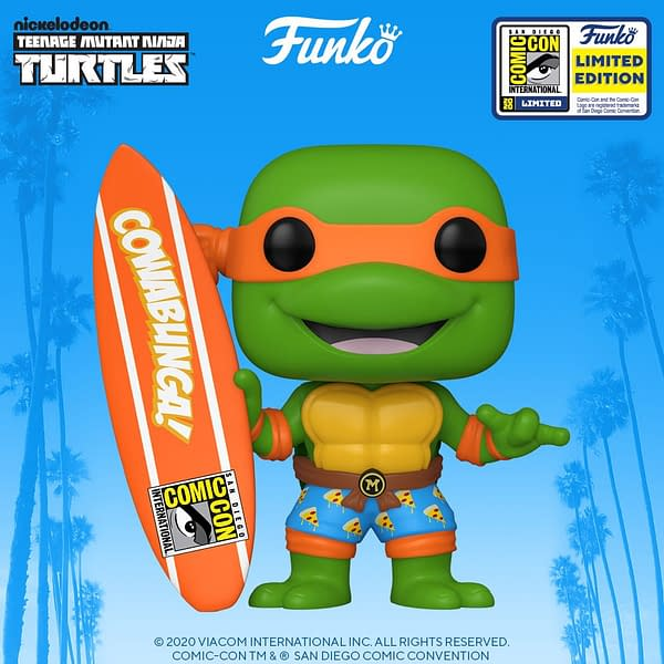 Funko SDCC 2020 Reveals - TMNT, Samurai Jack, and Invader Zim
