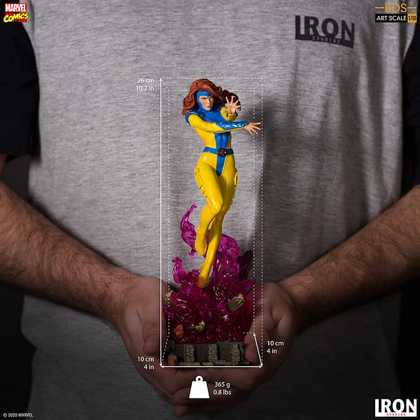 Jean Grey Goes Omega Level with New Iron Studios X-Men Statue