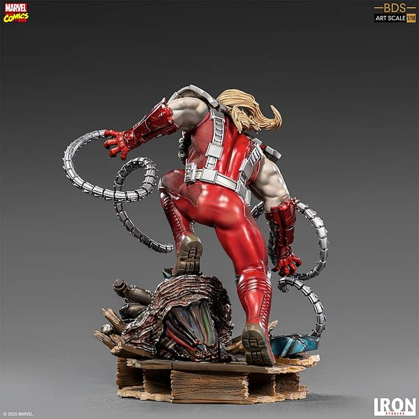 X-Men Omega Red Joins the Fight with Iron Studios