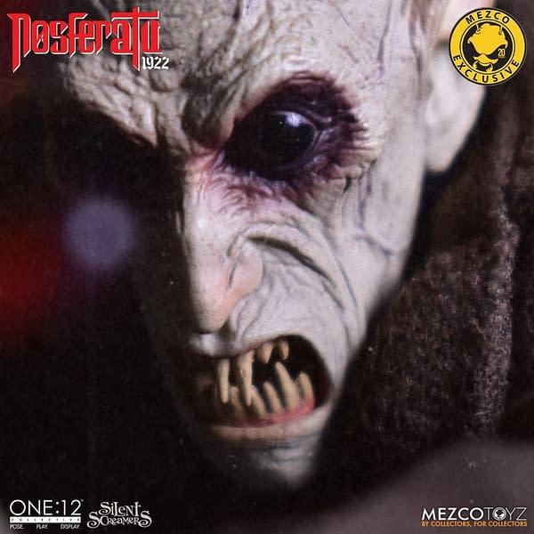 Nosferatu One: 12 Collective Mezco Toyz Pre-Orders Go Live