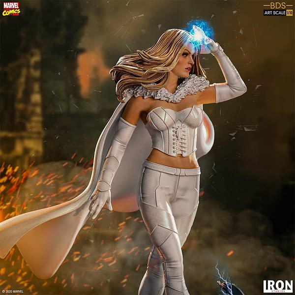 Emma Frost Shows Her True Colors with Iron Studios X-Men Series