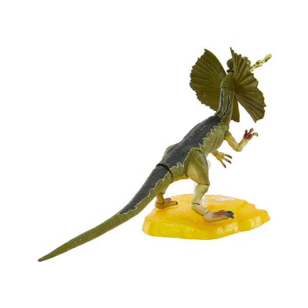 Jurassic Park Amber Collection Adds Dennis Nedry and Dilophosaurus