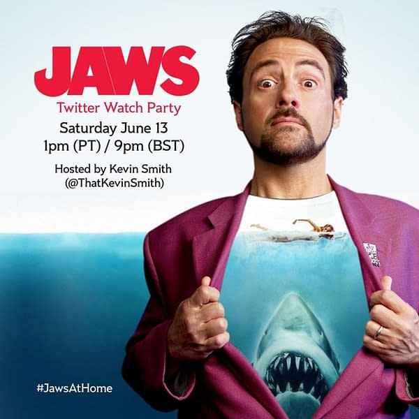 Watch Jaws With Kevin Smith During A Twitter Watch Party Saturday