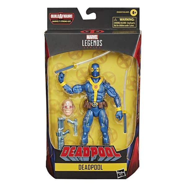Marvel Legends Deadpool Strong Guy BAF Wave Up For Order Now