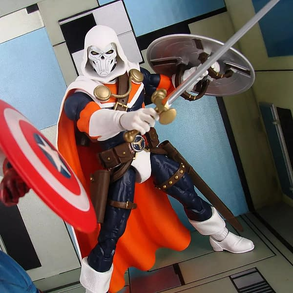 Taskmaster Returns to His Comic Book Roots with Diamond Select Toys