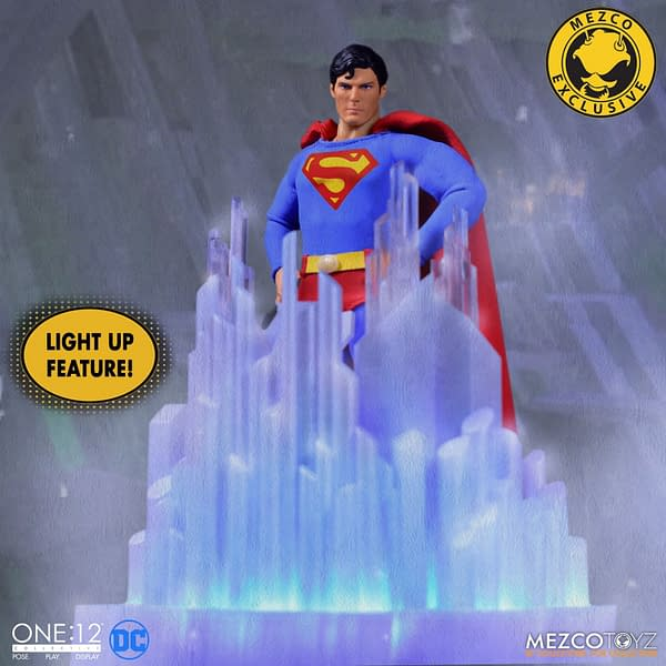 Full Look at the Upcoming 1978 Superman Figure from Mezco