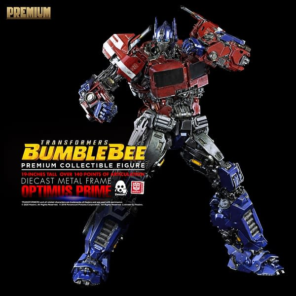 Transformers Optimus Prime is Ready to Roll Out with Threezero