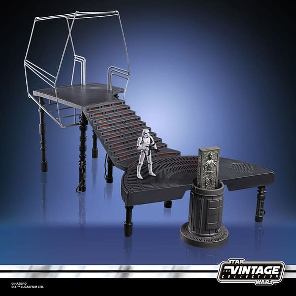 Hasbro Announces Star Wars Carbon Freezing Chamber Chamber Playset