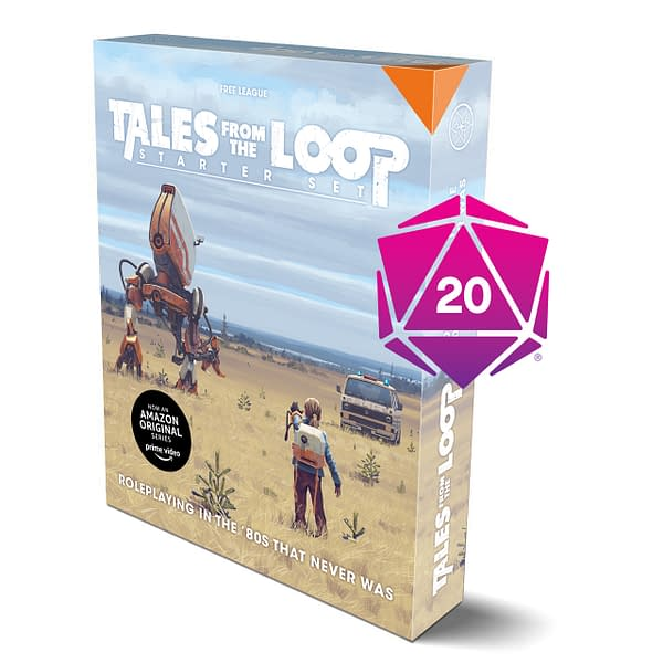 The Tales From The Loop role-playing game starter set for Roll20.