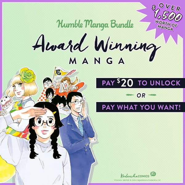 Kodansha Offers Eight Award-Winning, Full Series On Humble Bundle