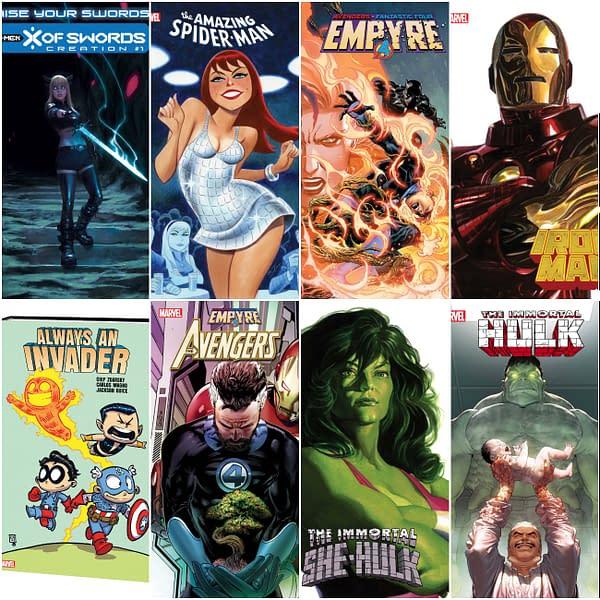Full Marvel Comics September 2020 Solicitations - So Far.