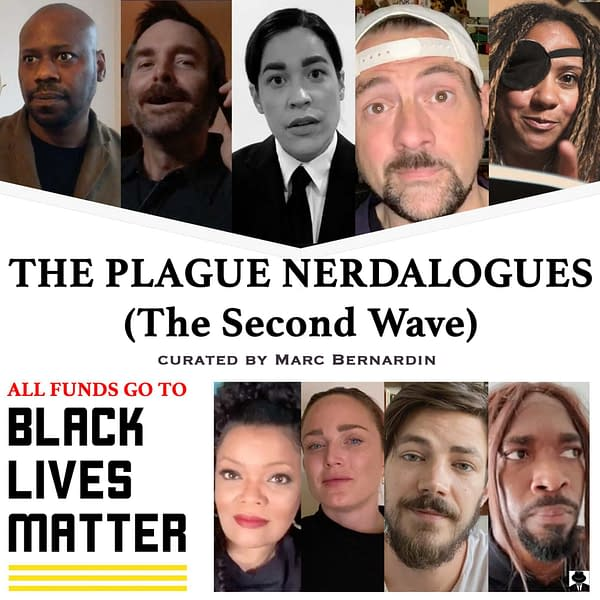 The Plague Nerdalogues: Kevin Smith, Grant Gustin Raise Funds for Black Lives Matter