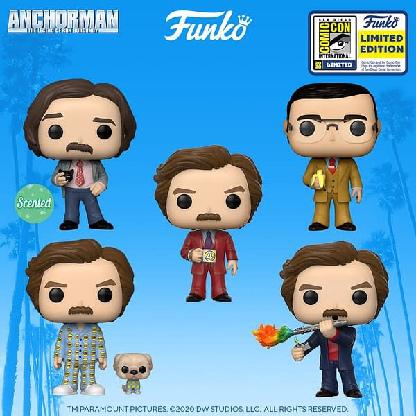 Funko SDCC Reveals - Anchorman The Legend of Ron Burgundy