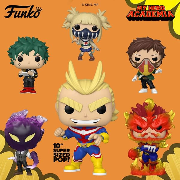 My Hero Academia Full Wave of Upcoming Pops Revealed by Funko