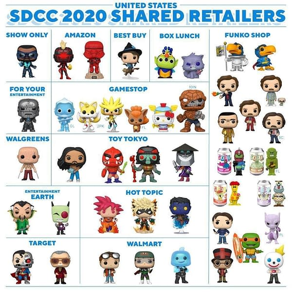 Funko Gives Update on SDCC 2020 Virtual Con 3.0 Schedule