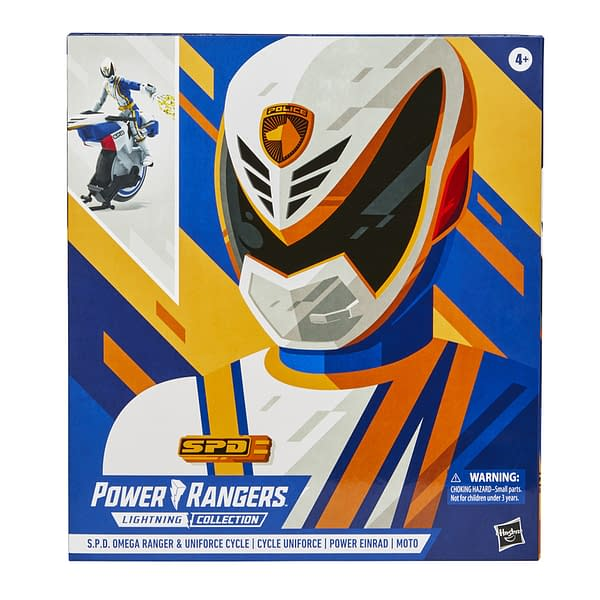 Power Rangers SPD Omega Ranger Gets Amazon Hasbro Exclusive