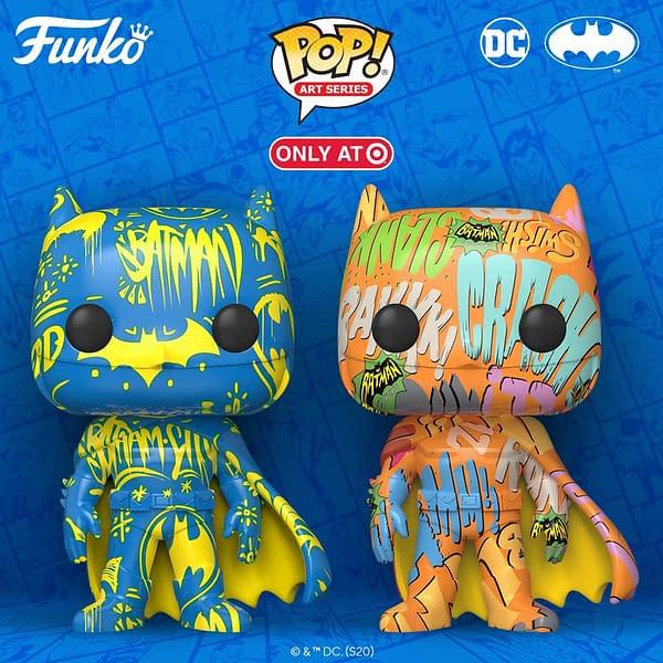 Funko Announces Target Exclusive Designer Batman Pop Series