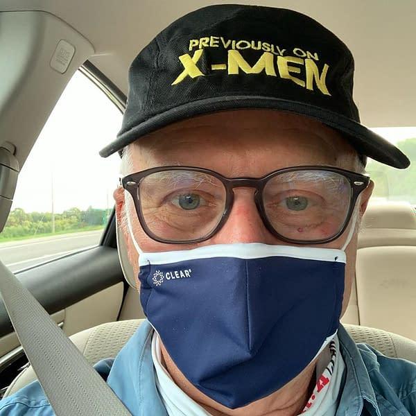 Chris Claremont Goes To Huntsville Comic Con, Alabama.