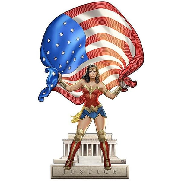 Frank Cho Returns to Wonder Woman Variant Covers, For One Night Only?