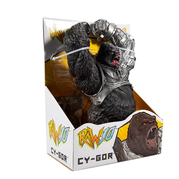 McFarlane Toys Debuts Raw-10 Toy Line Featuring Cyborg Animals