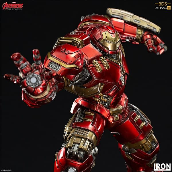 Hulkbuster Saves the Day with New Marvel Iron Studios Statue