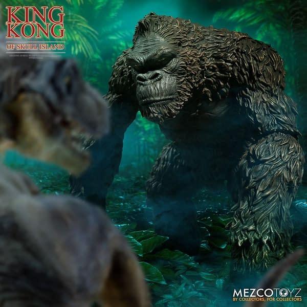 King Kong of Skull Island Returns with Mezco Toyz Reissue