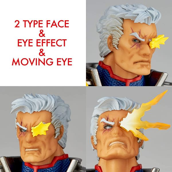 X-Men's Cable Lands in 2020 With New Revoltech Figure