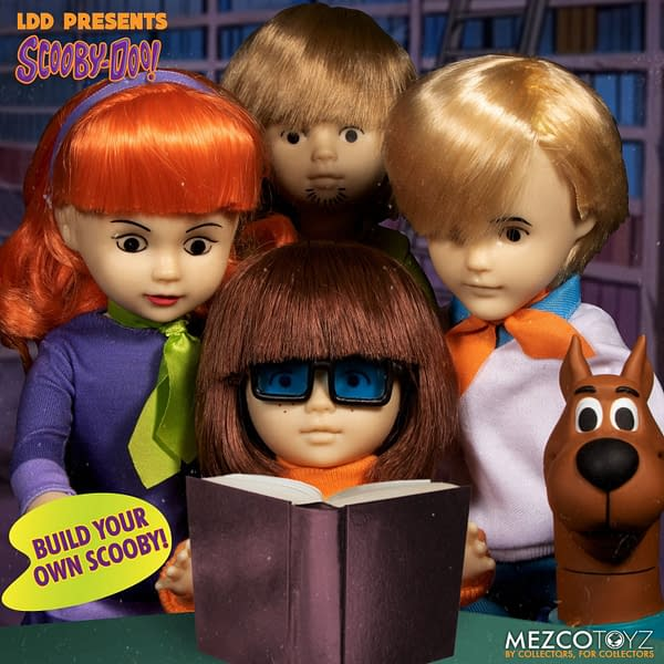Scooby Doo and the Gang Get Living Dead Dolls From Mezco Toyz