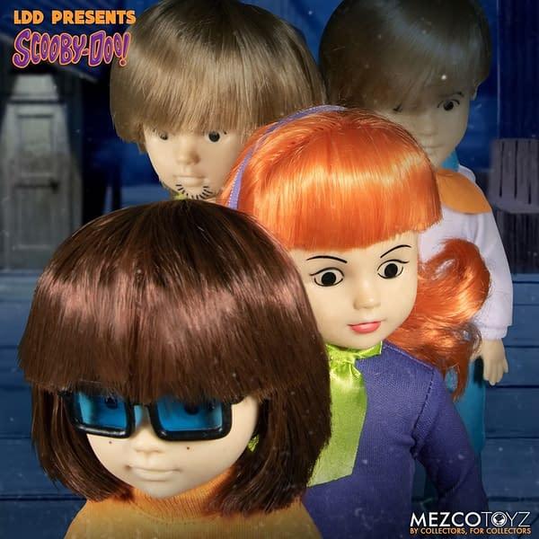 Scooby Doo Mystery Inc Living Dead Dolls Mezco Toyz