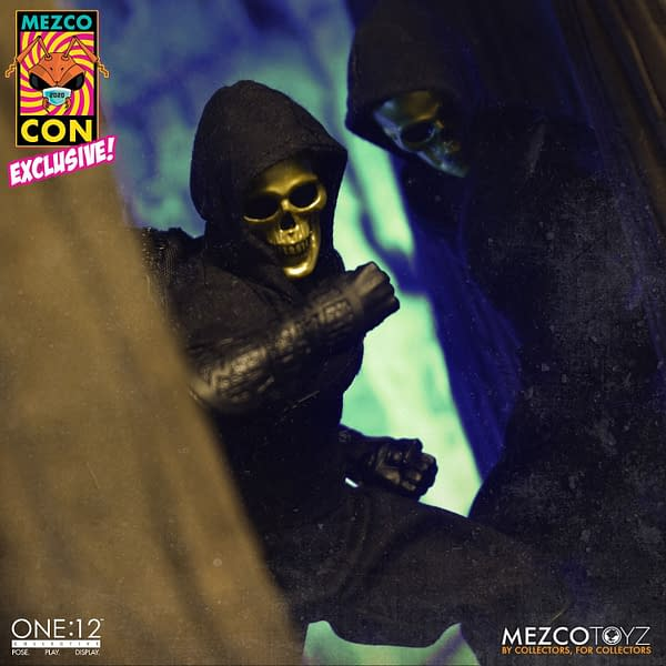 Mezco Toyz Secretly Releases Gold Skull Ninja One:12 Collective Figure