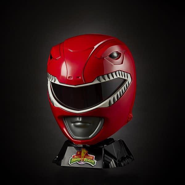 Power Rangers Red Ranger Replica Helmet Announced by Hasbro