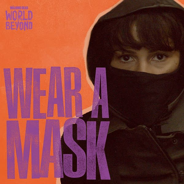 The Walking Dead: Daryl, King Ezekiel, & More Need You Wearing Masks