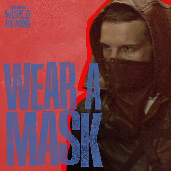 The Walking Dead: Daryl, King Ezekiel, & More Need You Wearing Masks