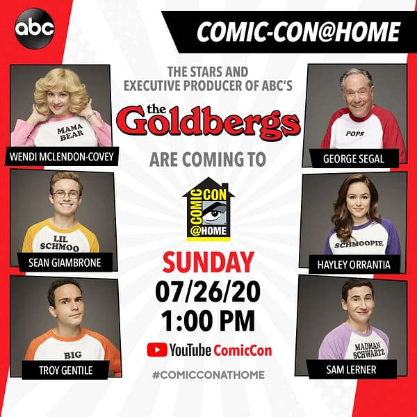 The Goldbergs SDCC Panel